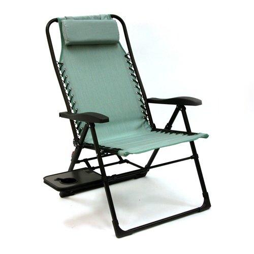 Amazon.com : Companion Sunbrella Anti Gravity Chair With Side Table : Patio Lounge  Chairs : Garden U0026 Outdoor