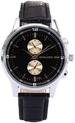 Xinantime Relojes Hombre Mujer,Xinan Negocio de Cuero de Imitación Reloj Análogo del Cuarzo (Negro)