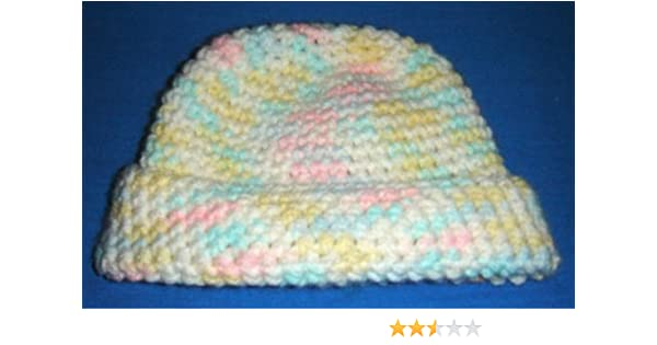 Amazon.com  Baby Hat - Crochet for Babies Newborn - 3 Months (Baby ... ac37f95b3dc