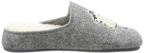 Gris Grau 9 Women's Sheepworld grau Slippers 320353 UAOtxqPRn