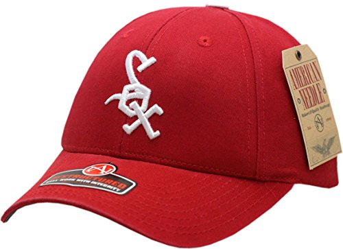 Chicago White Sox Buckle Back Pastime Replica (Red Sox American Needle)
