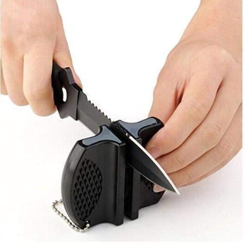 Price comparison product image Mini Camp Ceramic Pocket Kitchen Knife Sharpener Rod Tungsten Steel Tool