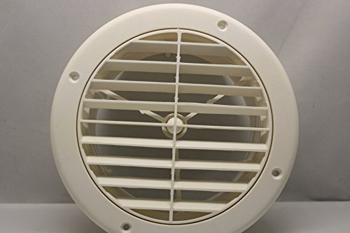 7 RV Ceiling A/C Vent - White ~~ 2 Extension