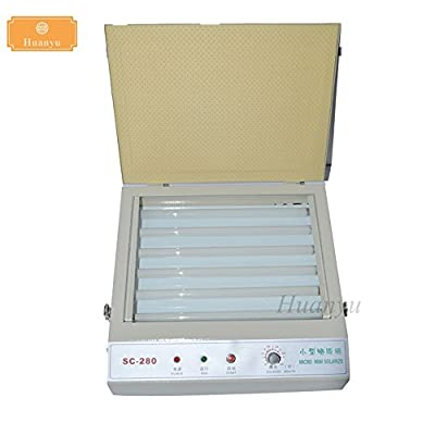 Huanyu SC-280 UV Exposure Unit Hot Foil Stamping Screen Pad Printing Machine PCB/ Resin Version Printing-Down Machine PS Edition Print Machine