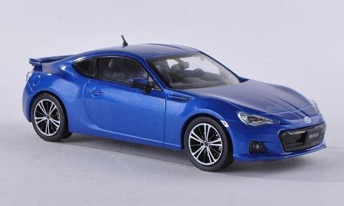 Subaru BRZ, met.-blue , 2012, Model Car, Ready-made, Subaru 1:43