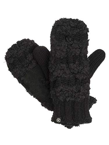 Isotoner Knit Mittens With...