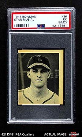 Amazoncom 1948 Bowman 36 Stan Musial St Louis Cardinals