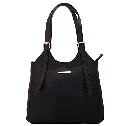 Bolso de mano Lapis O Lupo Ocre para mujer Bolso de diseñador negro con Multi Pocket