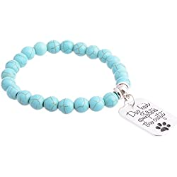 """Pendant Bracelet by Luvalti- """"Dog Hair Completes the Outfit"""" Charm Bracelet - Jewelry for Dog Lovers"""
