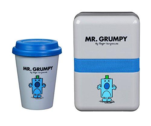 Mr. Men & Little Miss: Mr. Grumpy Lunch Box & Travel Mug -