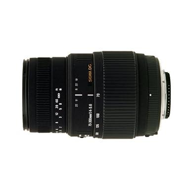 Sigma 70-300mm f/4-5.6 DG Macro Motorized Telephoto Zoom Lens for Nikon Digital SLR Cameras