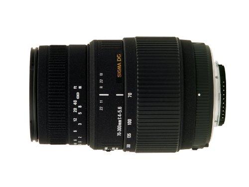 Comparer SIGMA NIKON 70-300MM NOIR F4-5.6 DG MACRO