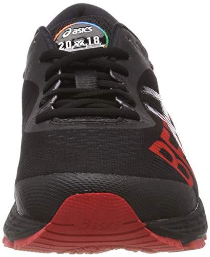 Hombre 001 Asics Gel black Para Zapatillas classic Berlin kayano 25 Red Running Negro De O8AwSOrqn