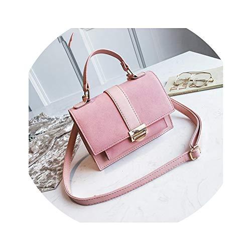 - Pink Rectangle Top Handle Hand Bags For Women Bolsos Mujer Fashion Portable Handbags Crossbody Shoulder Bag New,pink