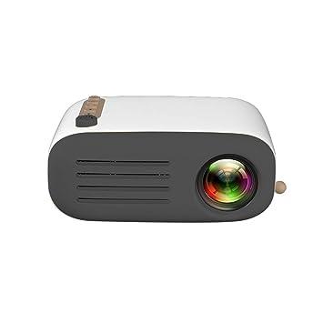 BAIYI LED 1080P proyector pequeño, para la Entrada de Cine en casa ...
