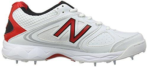 New Balance CK4030AV D - Calzado de críquet para hombre Blanco - blanco