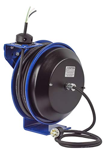 Reel Rewind Spring (Coxreels PC13-5012-X Power Cord Spring Rewind Reels: Less Accessory, 50' cord, 12 AWG)