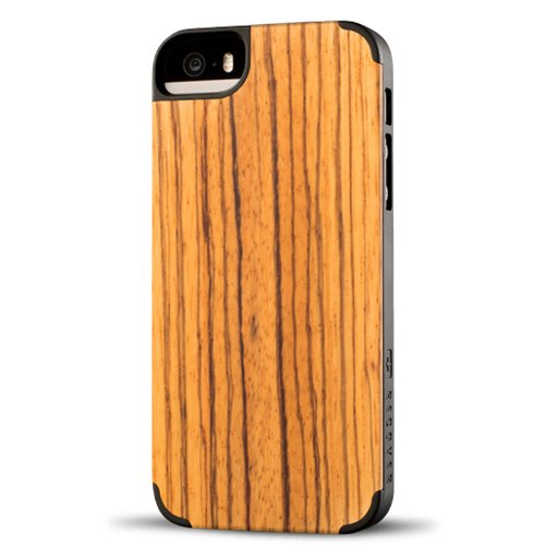 Recover Case for iPhone 5/5S - Retail Packaging - - Veneer Sunglasses Wood