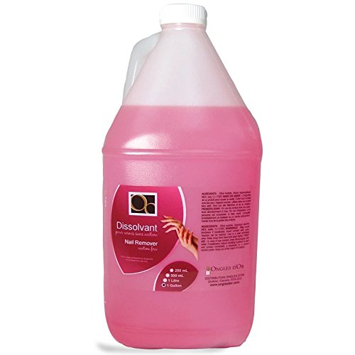 Acetone Free Nail Polish Remover Gallon Ongles d' Or