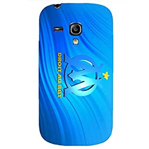 Sparkling Blue Background Marseille FC Phone Case Durable Cover for Samsung Galaxy S3 Mini