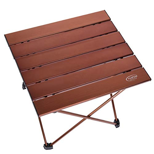 (3.9lbs Portable Folding Camping Table, 26.9