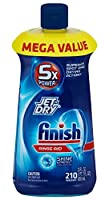 Finish Jet Dry Dishwasher Rinse Agent Liquid Original 23 Ounce