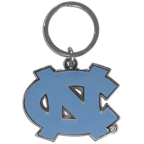 - Siskiyou NCAA North Carolina Tar Heels Chrome and Enameled Key Chain