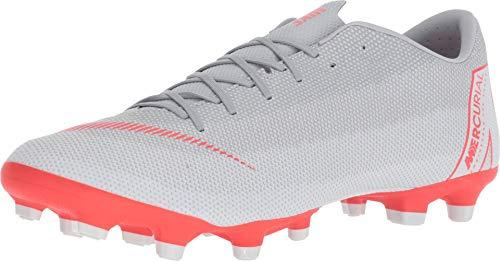 12 Academy MG Soccer Cleat (Wolf Grey) (Men's 8.5/Women's 10) ()