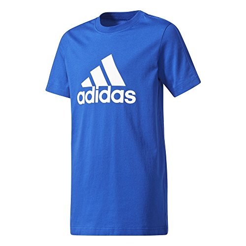 Adidas Yb Blu Maglietta reauni Logo Tee bianco Unisex Bambini vUFqvB4w