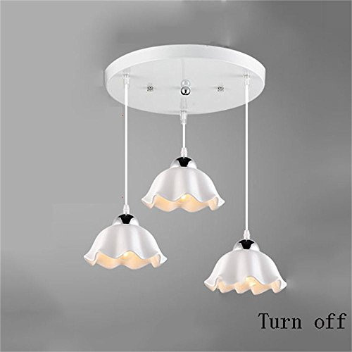 Contemporary Fashionable 5 Light Chandelier With Crystal Pendants in US - 5