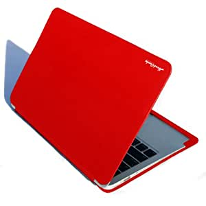 Hard Candy Cases Candy Convertible Case for Apple MacBook Air 11-inch, Red, (CS-MACAIR11-RED)