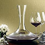 The Wine Enthusiast Vivid Wine Decanter, 47-Ounce