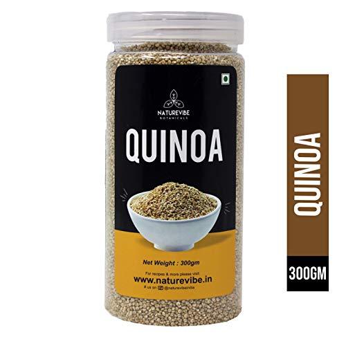 Naturevibe Botanicals Organic Quinoa Seeds – 300gm