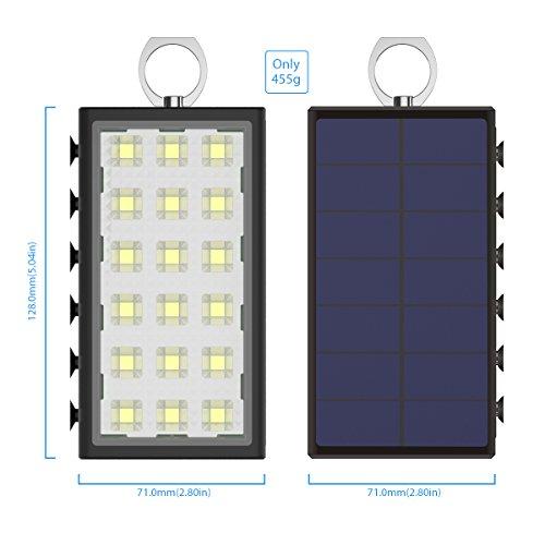 Avec Lampe Camping Externe De SolaireBigblue Batterie 10600mah UzSMpV