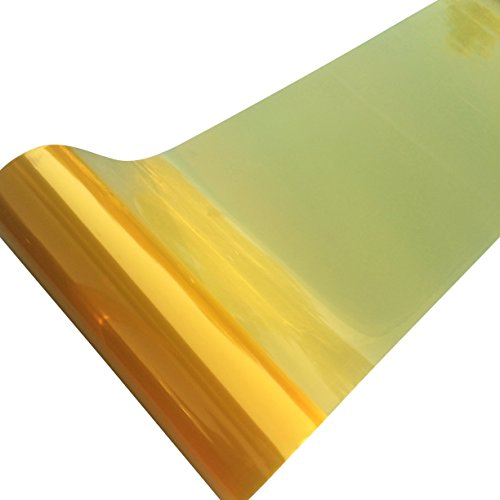 Direct Products Smoked Car Headlight Wrap Film 1200 X 300mm Yellow Lense - Lenses Tinting