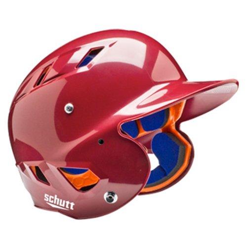 Schutt Sports AiR 5.6 Softball Batter's Helmet, High Gloss Cardinal, (Cardinal Batting Helmet)