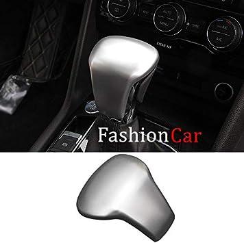 Color Carbon Fiber Interior Gear Shift Knob Trim For Volkswagen Atlas 2017-2019