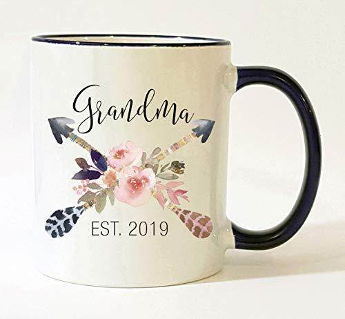 Grandma Est 2019 Mug Pregnancy Announcement 2019 New Grandma ()