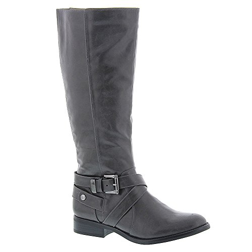 LifeStride Women's Racey (Wide Shaft) Grey Linz Boot (Grey Womens Riding Boots)