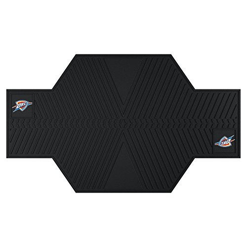 NBA Motorcycle Mat (Oklahoma City Thunder) (5/16''H x 42''W x 82 1/2''D) by Fanmats
