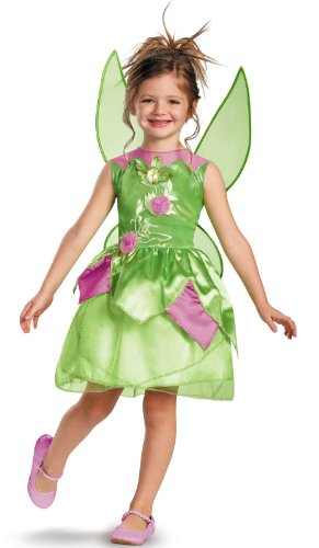 Tinkerbell Costume Party City (Tinker Bell Classic Child Costume - Large)