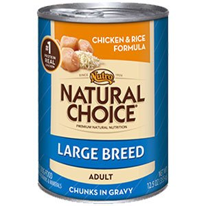 Nutro Natural Choice Large Breed Can Dog Food Case