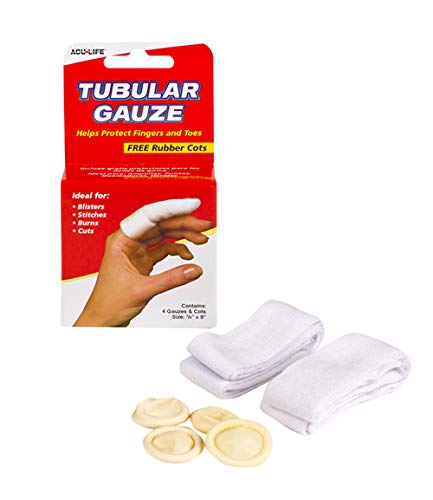 Health Enterprises Inc. Tubular Gauze with Finger Cots, 1 Pound