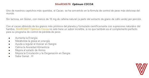 VALENTUS Slim Roast Cocoa (sabor chocolate cacao) caja de 14 ...