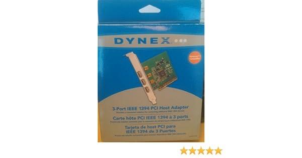 DYNEXTM 3-PORT FIREWIREIEEE 1394 PCI CARD DRIVER PC