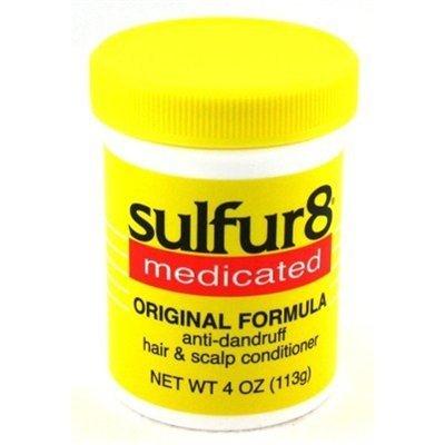 - Sulfur-8 Conditioner Original Hair & Scalp Jar 4 Ounce (118ml) (6 Pack)