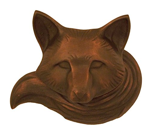 Fox Door Knocker - Oiled Bronze (Standard Size)