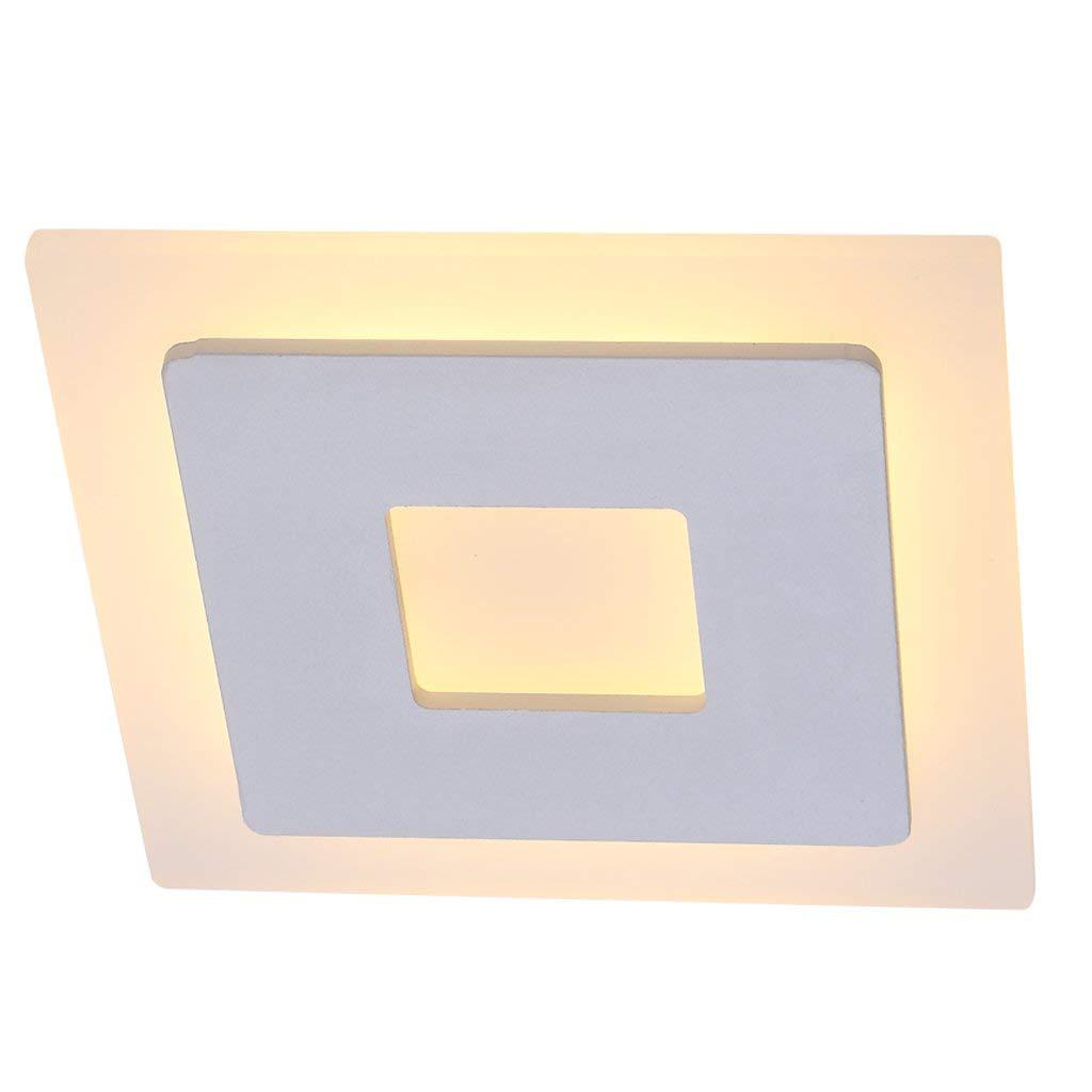 FXING Kreative LED-Gang Beleuchtung Flur Leuchten Portallicht Einfache Moderne Lobby Lampen Home Lampen Square Deckenleuchten kreative Persönlichkeit Design LED Energiesparende Lichtquelle LED energi