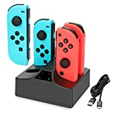 Nintendo Switch Joy-Con Charger, YCCTEAM 4 in 1