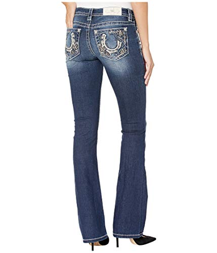 Miss Me Lucky Solstice Bootcut Jeans Dark Blue (Me Miss Jeans 12)